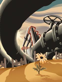 Le quatrième choc pétrolier et le destin des États du Golfe